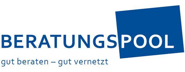 Logo Beratungspool mit Claim
